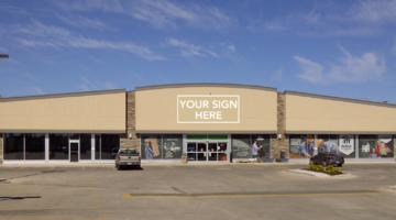 Exterior of 1081 Ellice Avenue in Winnipeg, MB.