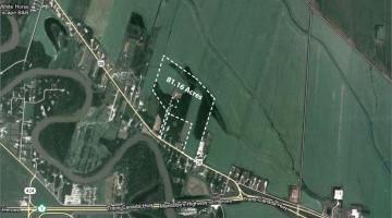 Aerial of PTH # 26 land in St. Francois Xavier, MB.