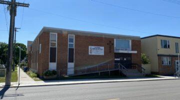 Exterior of 794 Ellice Avenue/ 548 Home Street in Winnipeg, MB.